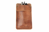 No. 818 - Pocket Protector in Glazed Tan