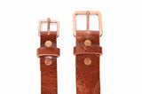 No. 919 - Copper Work Belt in Glazed Tan