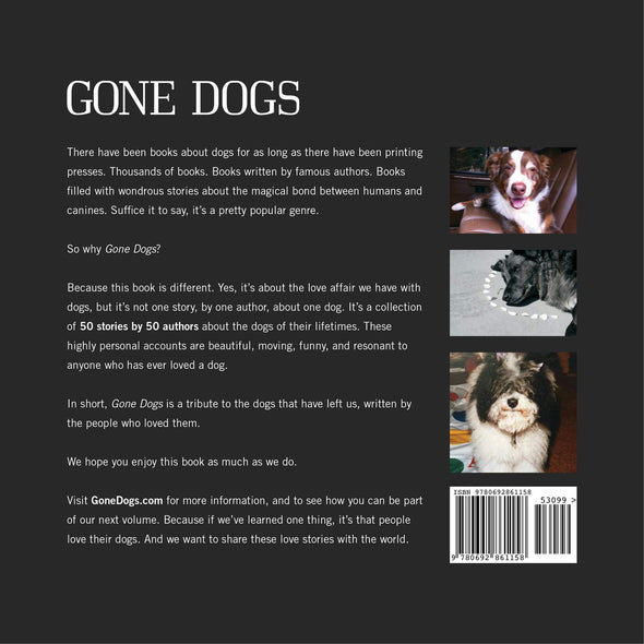 Gone Dogs by Jim Mitchem & Laurie Smithwick (SIGNED)