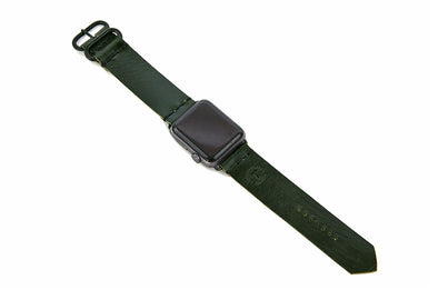 No. 718 - Apple Watchband in British Racing Green