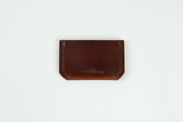No. 320 - Minimalist Card Sheath in Havana Brown
