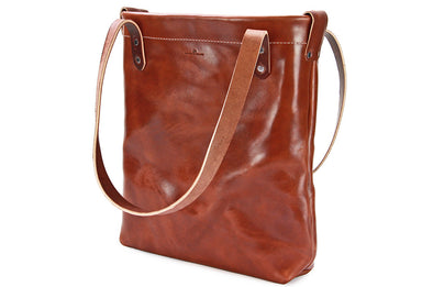 No. 419 - Large Tote in Havana Brown