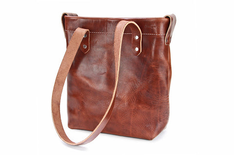 No. 419 - Standard Tote in Havana Brown