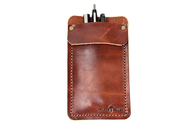 No. 818 - Pocket Protector in Havana Brown
