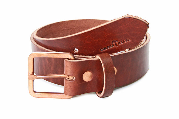 No. 919 - Copper Work Belt in Havana Brown