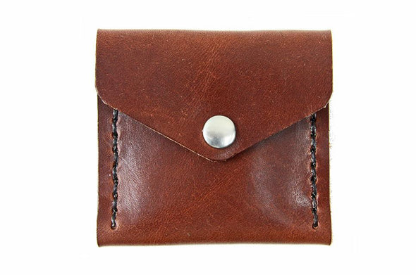 No. 720 - Coin Pouch in Havana Brown
