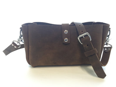 Custom Crossbody in Crazy Horse