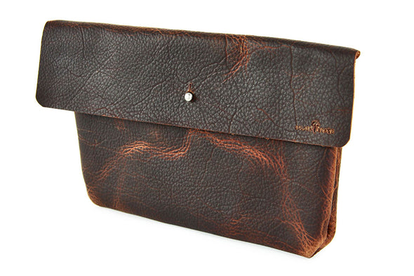 No. 218 - Large Pouch in Denali Brown
