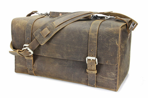 No. 613 - Large Duffle in Crazy Horse
