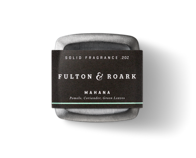 Mahana Palmetto Solid Cologne by Fulton & Roark