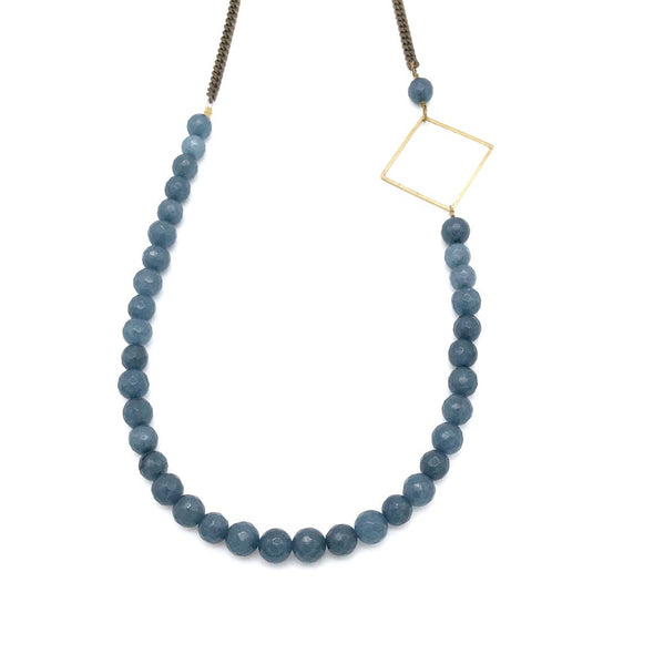 Mazeppa Necklace - Blue