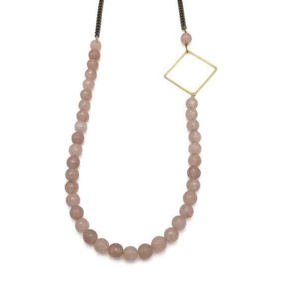Mazeppa Necklace - Pink