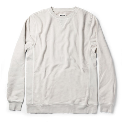 The Crewneck in Aluminum Terry by Taylor Stitch