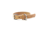 No. 115 - Dog Collar in Natural Tan