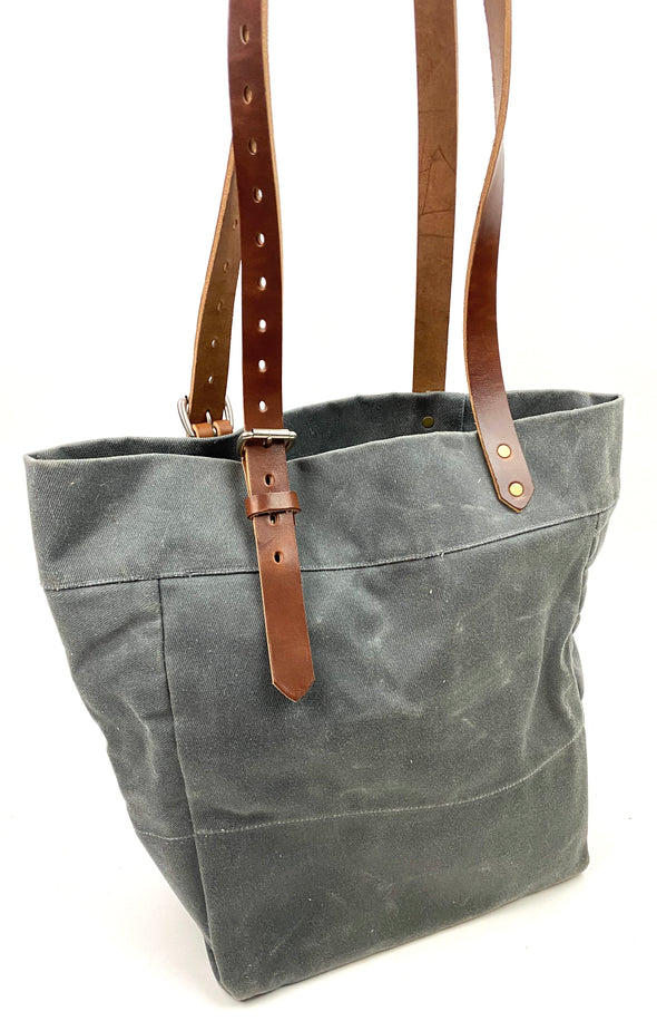 Summer SS 20 - No. 814 - Canvas Tote in Grey