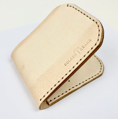 Summer SS 20 - No. 817 Bi-Fold Wallet in Natural Tan