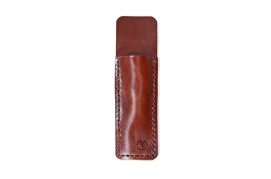 No. 1119 - Pen Case in Havana Brown