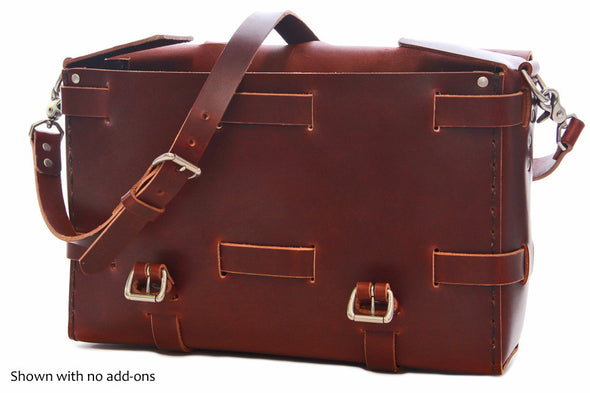 No. 4316 - Bohemian Leather Satchel in Scotch Grunge