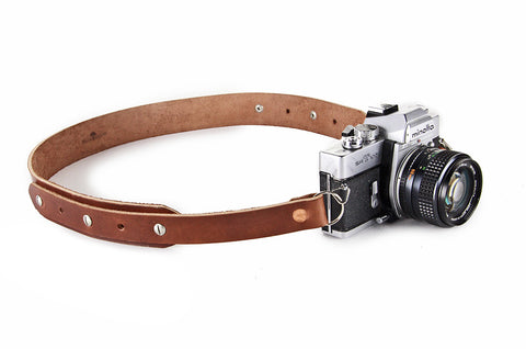No. 415 - Camera Strap in Havana Brown