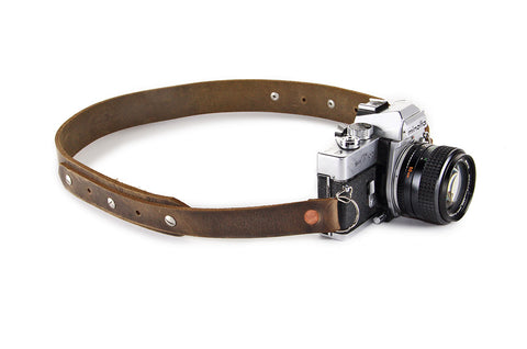 No. 415 - Camera Strap in Crazy Horse