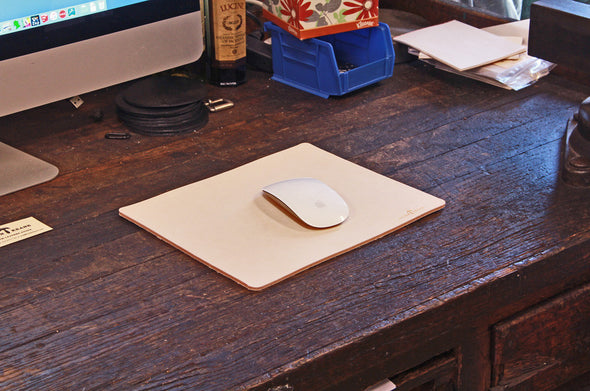 No. 714 - Mouse Pad in Natural Tan