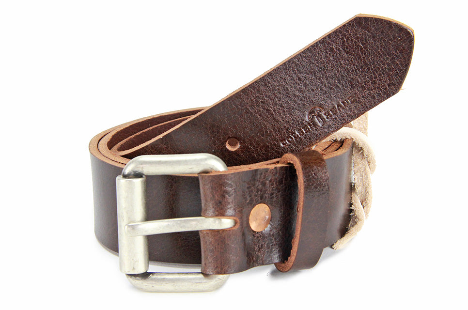 No. 914 - Work Belt in Relaxed Mahogany