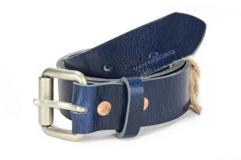 No. 914 - Work Belt in LIMITED Doctor Blue Buffalo