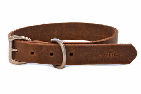 No. 115 - Dog Collar in Crazy Horse