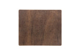 No. 714 - Mouse Pad in Brown CrazyHorse