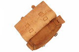 No. 4313 - Minimalist Standard Leather Satchel in Manhattan Rye - SPECIAL Holiday Run, Only One Made! - SOLD OUT