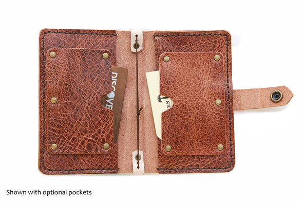 No. 1016 - Field Notes & Passport Cover in Glazed Tan