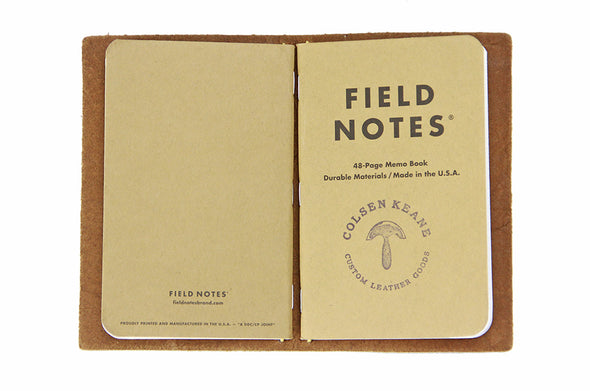 No. 410 - Field Notes Cover in Burnt Sienna