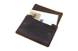 No. 1214 - Tablet Portfolio Case in CrazyHorse Brown