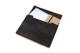 "No. 1214 - Large Portfolio Case in CrazyHorse Brown (Fits 15"" Macbook Pro)"