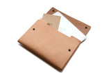 No. 1214 - Extra Large Portfolio Case in Natural Tan