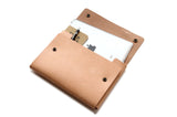 No. 1214 - Tablet Portfolio Case in Natural Tan