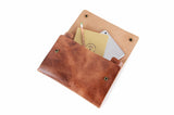 No. 1214 - Tablet Portfolio Case in Glazed Tan