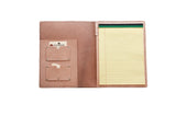 No. 715 - Notepad Portfolio in Natural Tan