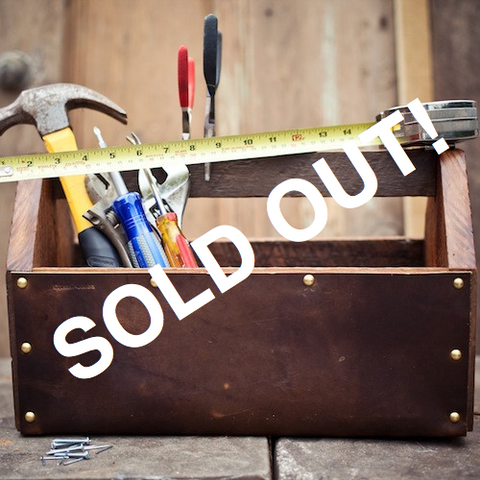 No. 1211  Gentleman's Toolbox - SOLD OUT!