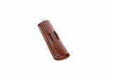 No. 1016 - Pen Pocket in Glazed Tan