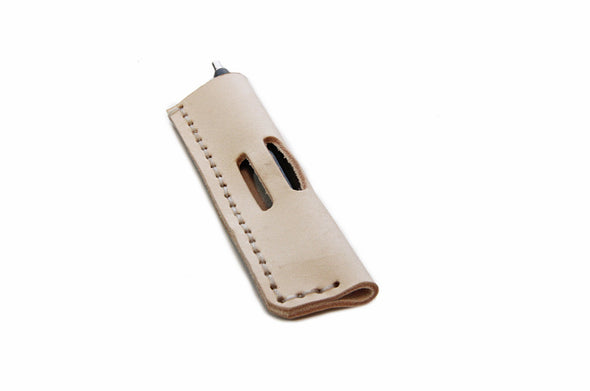 No. 1016 - Pen Pocket in Natural Tan