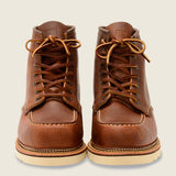 No. 1907 - Classic Moc Style in Copper Rough & Tough Leather