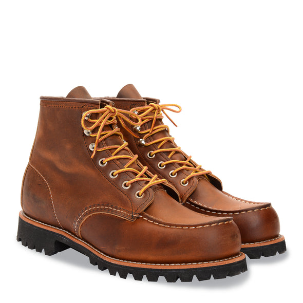 "No. 2942 - Red Wing Heritage 6"" Roughneck in Copper Rough & Tough Leather"