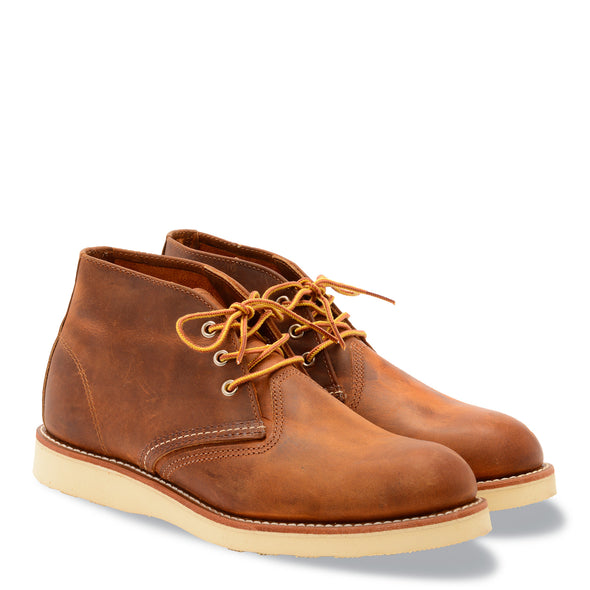No. 3137 - Red Wing Heritage Work Chukka in Copper Rough & Tough Leather