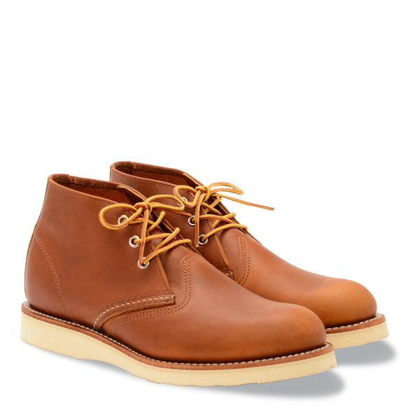 No. 3140 - Red Wing Heritage Work Chukka in Oro-Iginal Leather
