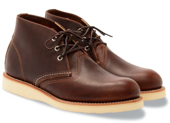 No. 3141 - Work Chukka in Briar Oil Slick Leather