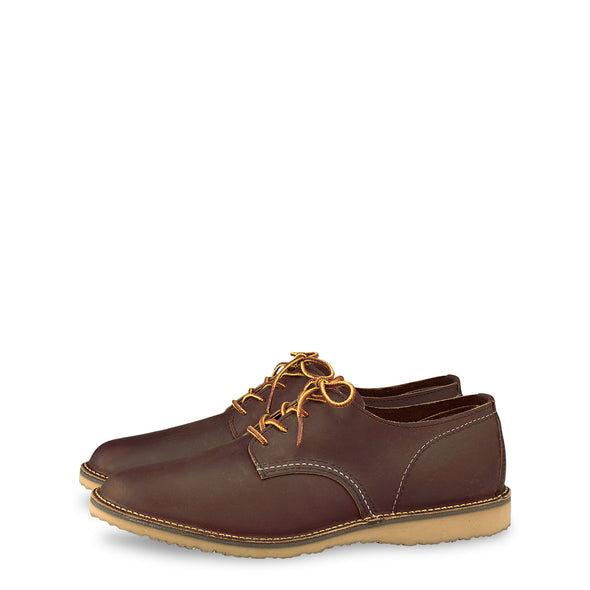 No. 3303 - Red Wing Heritage Weekender Oxford in Copper Rough & Tough Leather