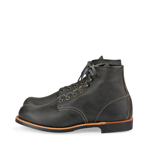 "No. 3341 - Red Wing Heritage 6"" Blacksmith in Charcoal Rough & Tough Leather"
