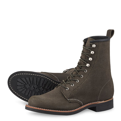 No. 3360 - Red Wing Heritage Silversmith in Pewter Acampo Leather