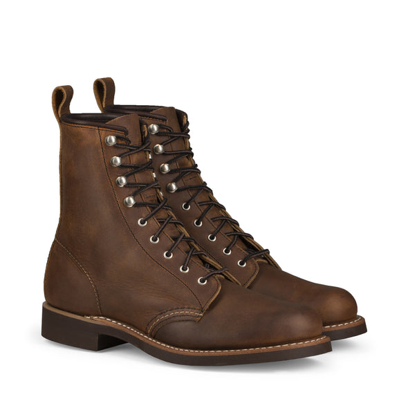 No. 3362 - Red Wing Heritage Silversmith Short Boot in Copper Rough & Tough Leather